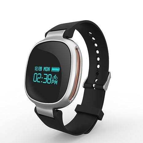 LE Reloj al aire libre Fitness Tracker Pulsera Deportiva Inteligente Detección de frecuencia Cardíaca en Tiempo
