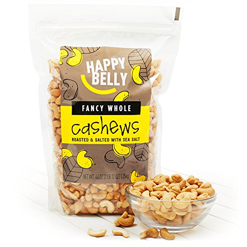 Happy Belly Fancy Whole Cashews, 44 Ounce