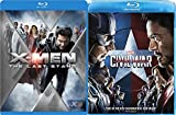 Captain America Civil War & X-Men The Last Stand Blu Ray Marvel Hero Set