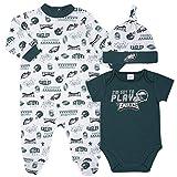 NFL Philadelphia Eagles 3 Pack Bodysuit Sleep n