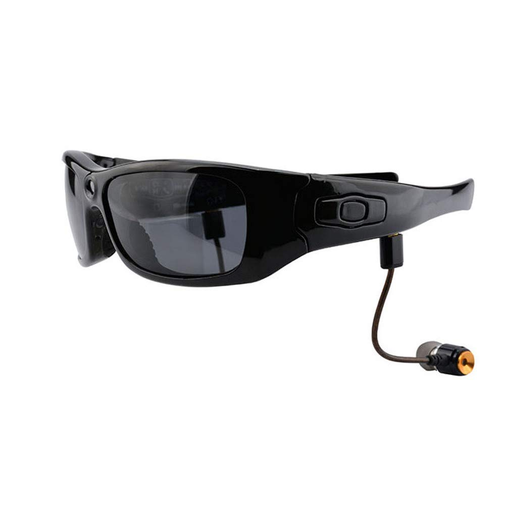 YFFS Bluetooth Sunglasses Detachable Headphones Polarized Sports Glasses Hands Free Calling for Men Women Running Cycling Driving Baseball