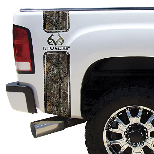 Camowraps (RT-BB-RL-XT) Xtra Camo Bed Band with Realtree Logo (Truck Camo Decals)