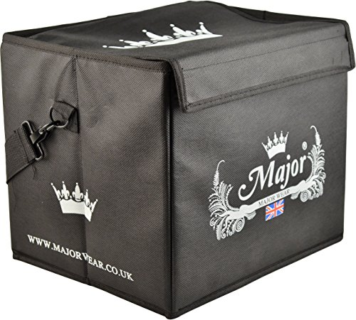 Wear Top Hat - Major Wear Collapsable Hat Box for Top HATS and Bowler Hats 30cm x 25cm x 25cm.