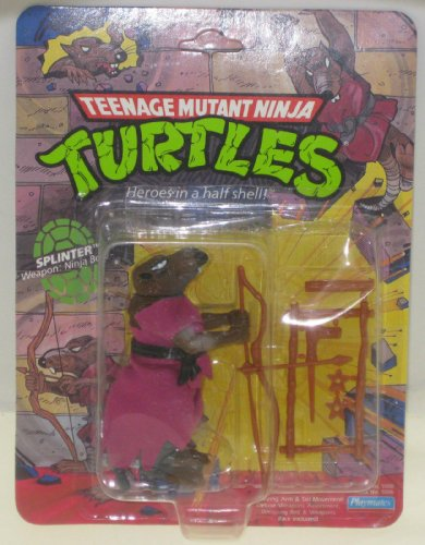Teenage Mutant Ninja Turtles Splinter - Toy 1990's