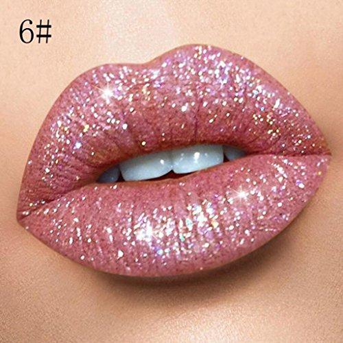 HP95 Liquid Velvet Glitter Lipstick,Matte & Shiny Lipstick M