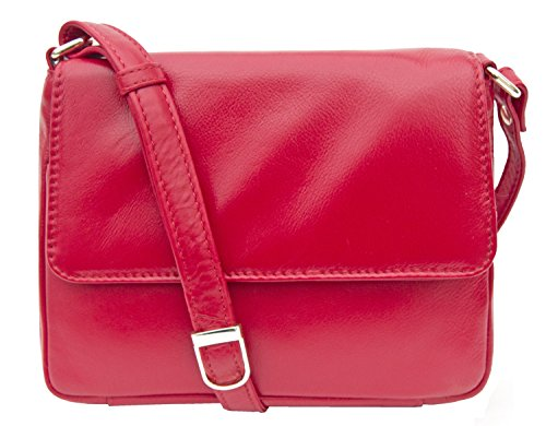 Crossed Bag 19 Hide Red For 5 X Cm 5 16 Woman Prime Ivory X C5St6gWqqn