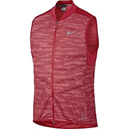 Nike Aeroloft Flash Jacket Men\'s Running Reflective Vest (Small)