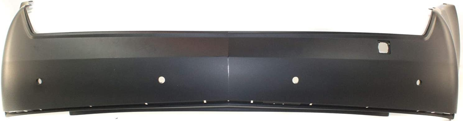 Bumper Cover For 2008-2013 Cadillac CTS w// Tow Hook Hole Rear Plastic Primed