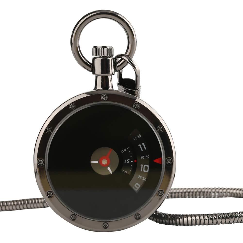Reloj de Bolsillo para Hombre con diseño de Tocadiscos de ...