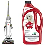 FloorMate Deluxe w/ Foldable Handle +  32oz PetPlus Pet Stain & Odor Solution Bundle