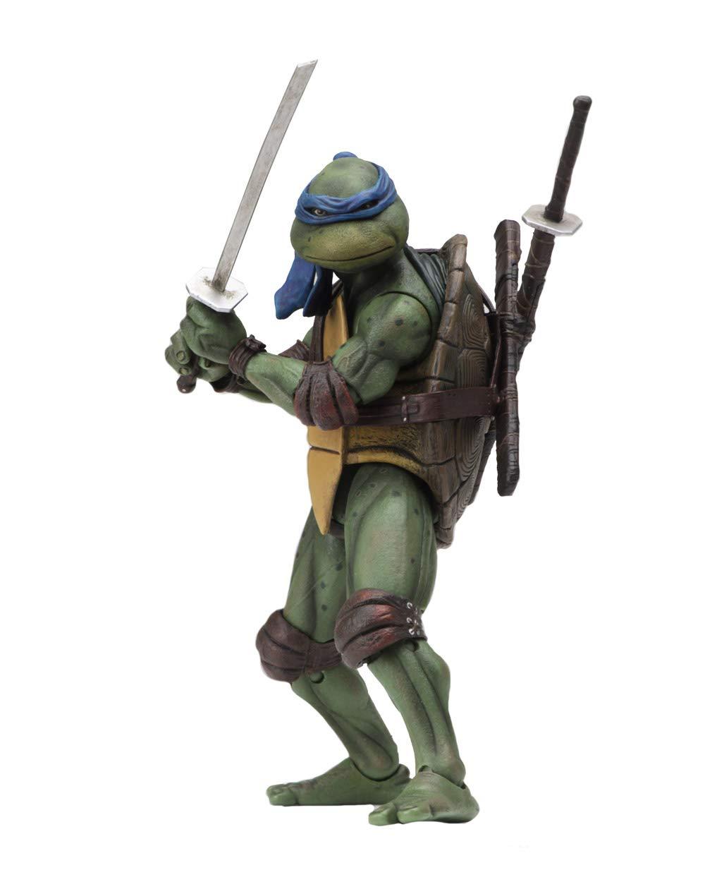Teenage Mutant Ninja Turtles (1990) - Leonardo Action Figure ...