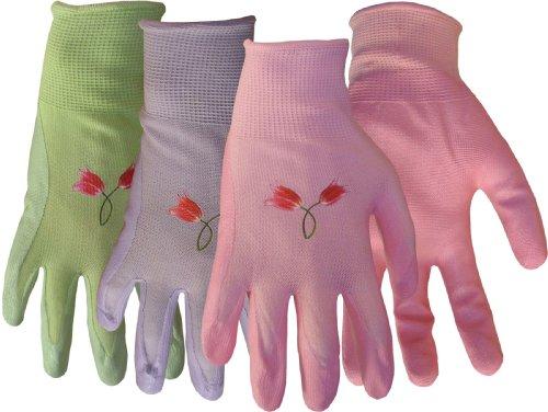 Nylon Knit Nitrile Palm Gloves For Women