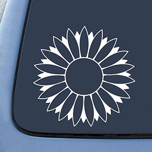 Flower Sunflower Sticker Notebook Laptop