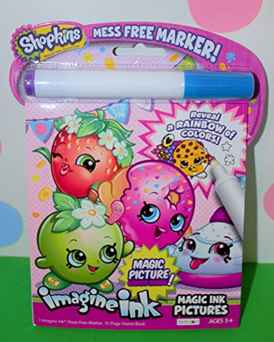 Shopkins Imagine Ink Picture Book