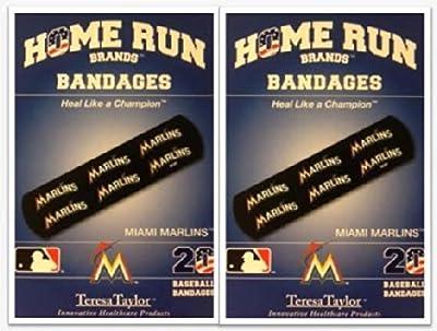 Miami Marlins Bandages x 2 box (total 40 pcs)
