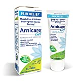 Boiron Arnicare Gel, 2.6 Ounce, Topical Gel for Muscle Pain, Swelling, Stiffness and Discoloration from Bruising. Natural Active Ingredient