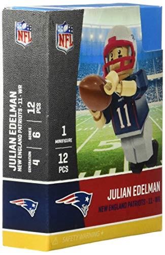 OYO NFL New England Patriots Gen4 Limited Edition Julien Edelman Mini Figure, Small, White