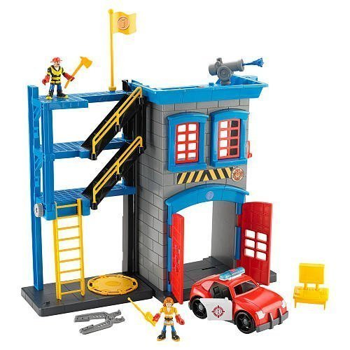 Fisher-Price Imaginext Rescue Heroes Firehouse