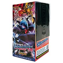 Pokemon Card XY11 BREAK Booster Pack Box 30 Packs in 1 Box Steam Siege Cruel Traitor Korea Version TCG + 3pcs Premium Card Sleeve