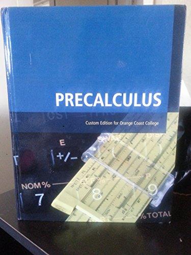 Precalculus Custom Edition for Orange Coast College (Occ)
