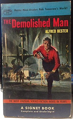 Demolished Man 1ST Edition Thus Signet 1105