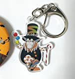 D.gray-man Hallow Millennium Earl Set x2 Can Badge Button Acrylic Keychain Anime