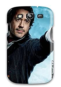 Fashion WYDJxfx1893eFZQL Case Cover For Galaxy S3(robert Downey Jr In Sherlock Holmes 2)