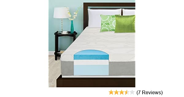 Amazon.com: Slumber Solutions Choose Your Comfort 12-inch Full-size Gel Memory Foam Mattress: Kitchen & Dining