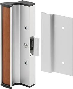 Prime-Line Products C 1055 Prime Line Door Handle Set, Aluminum, Anodized