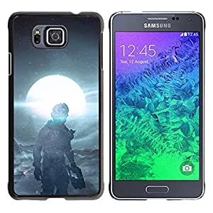 // PHONE CASE GIFT // Duro Estuche protector PC Cáscara Plástico Carcasa Funda Hard Protective Case for Samsung ALPHA G850 / Dead Space 3 /