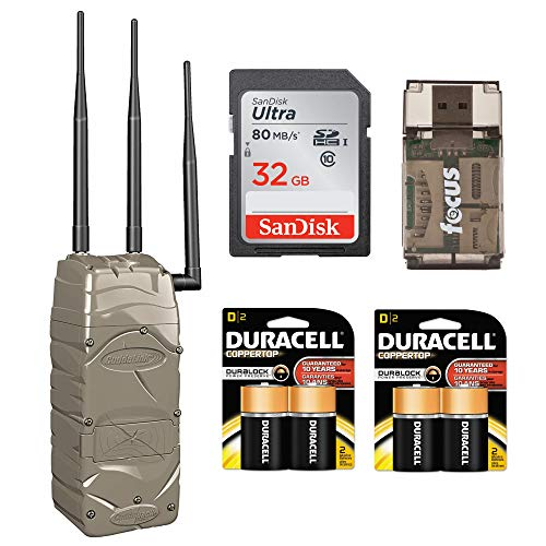 (Cuddeback Verizon Cellular Home Unit (Emails You Pictures from CuddeLink Trail Cameras) with Batteries &)