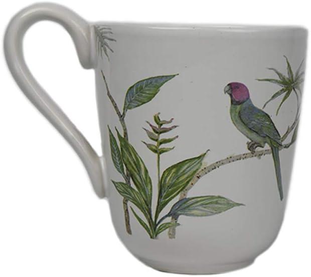 Comfy Hour Farmhouse Home Decor Collection 10oz Birds Mug Water Cup Stoneware