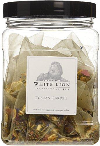 Tuscan Garden Fine Herbal Tea, 25 Sachets, White Lion Tea