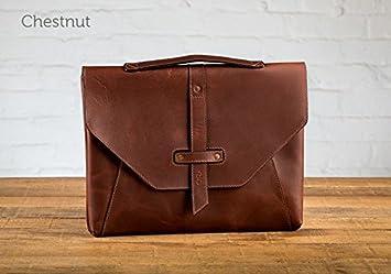 Amazon.com: Valet Luxury Leather Bag for iPad Pro 9.7 - Chestnut ...