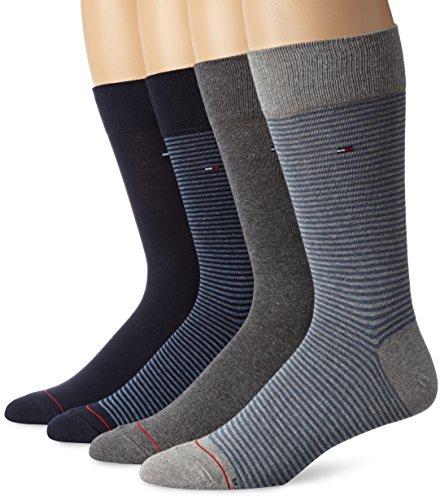 Tommy Hilfiger Mens Four Pack Fine Stripe