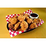 Brakebush Fully Cooked Country-Style Breaded Boneless Wing Fritters, 10 lb