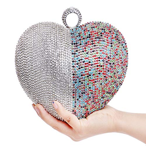 Chain For Color Bags Wallet Elegant Multi Party Bead Evening Handbags Womens Purse Clutches n7AW1F1gf