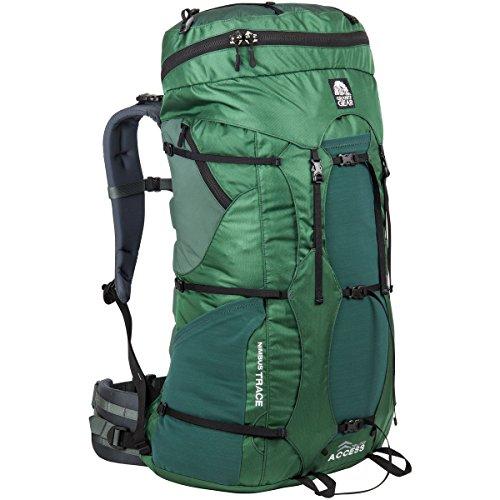 Granite Gear Men's Nimbus Trace Access 70 Backpack, Fern/Boreal/Black/Dark Slate, One Size