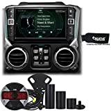 Alpine Restyle - i209-WRA 9'' Apple CarPlay Radio, Multimedia system & HCE-TCAM1-WRA Spare Tire Rear View Camera
