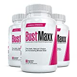 Bustmaxx All Natural Bust Enlarging & Enhancement Supplement Capsules, 180 Count