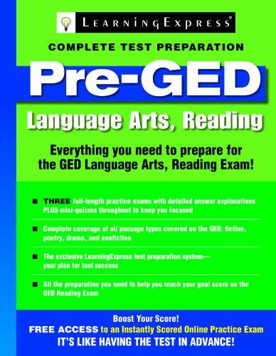 GED Test Skill Builder: Language Arts, Reading