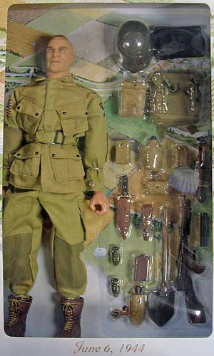 21st century toys ultimate soldier 101st airborne division d-day action figure