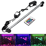 GreenSun 48cm Waterproof Aquarium Fish Tank LED Lighting for Saltwater and Freshwater 16