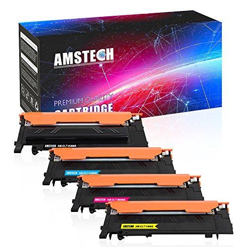 Amstech 4Pack Compatible CLT-406S CLT-K406S CLT-C406S CLT-M4