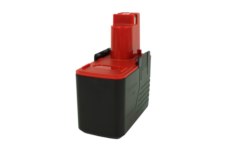 2607335210 2607335160 2607335146 2/607335252 BAT015 Power Smart/® 1700/mAh 14,40/V NiMH bater/ía para Bosch PSR 14.4/VES-2 2607335252 2607335248 2607335246