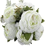 Duovlo-Springs-Flowers-Artificial-Silk-Peony-Bouquets-Wedding-Home-DecorationPack-of-1-Spring-White