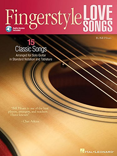 Fingerstyle Love Songs: 15 Classic Songs Arranged for Solo - Fingerstyle Guitar Magazine