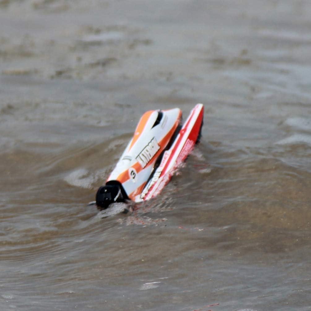 NUOBESTY Fernbedienung RC-Boote f/ür Kinder Erwachsene Ferngesteuertes RC-Boot f/ür Poolseen Blau