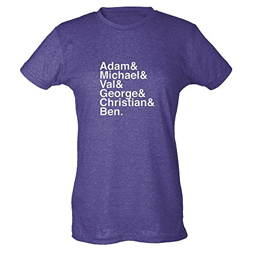 Batdudes-Adam-Michael-Val-George-Christian-Ben-Womens-T-Shirt-by-Pop-Threads