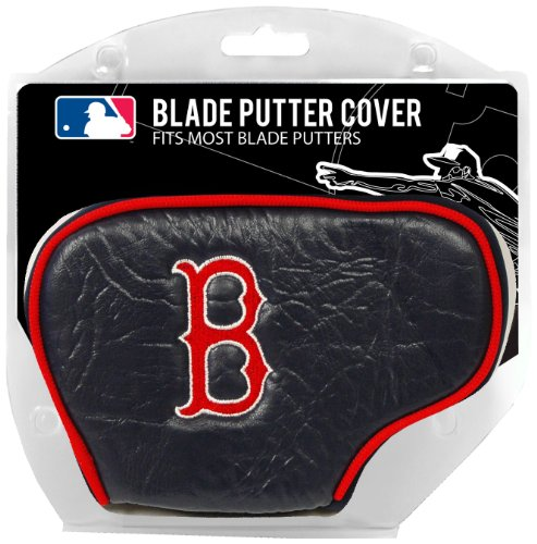 (Team Golf MLB Boston Red Sox Golf Club Blade Putter Headcover, Fits Most Blade Putters, Scotty Cameron, Taylormade, Odyssey, Titleist, Ping,)